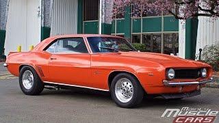 1969 Chevy Camaro 468 Big Block with Burnout