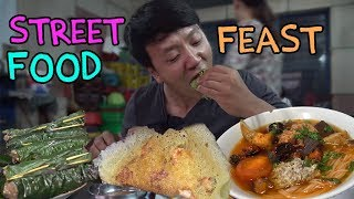 Traditional Vietnam Street Food FEAST in Saigon: SIXTEEN DESSERTS!
