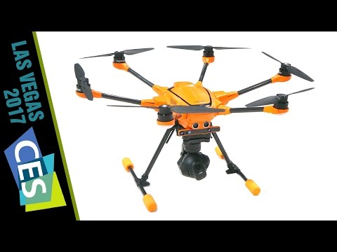 At CES: Yuneec Announces H520 Commercial Drone (It's Orange!)