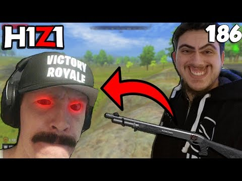 CHOWH1 CODRUSHED LYNDONFPS.. INSANE RAGE! H1Z1 - Best Oddshots & Funny Moments #186