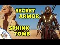 Assassin's Creed Origins - Sphinx SECRET Tomb - How to Get Legendary ISU ARMOR  in Sphinx Mystery