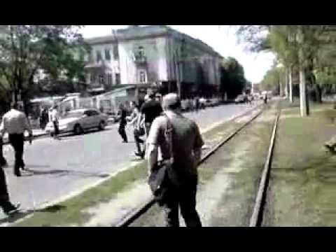 Через 2 минуты после третьего взрыва в Днепропетровске