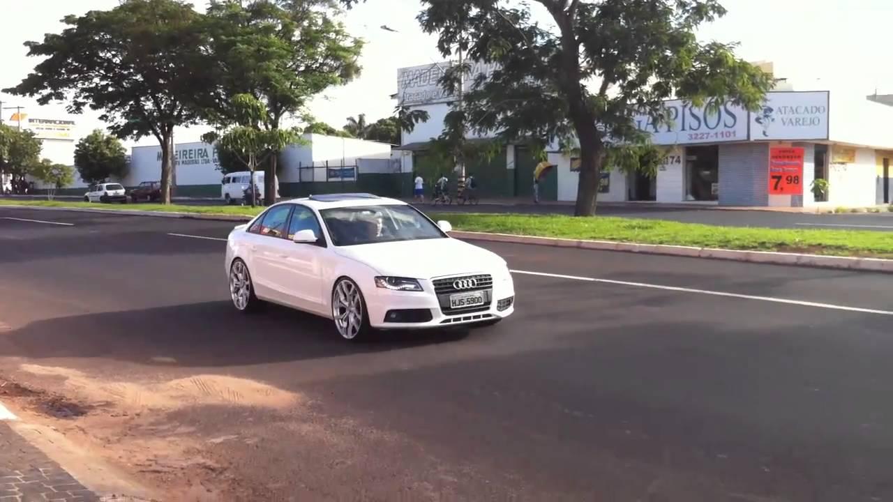 Audi A4 Com Rodas Aro 22 Youtube