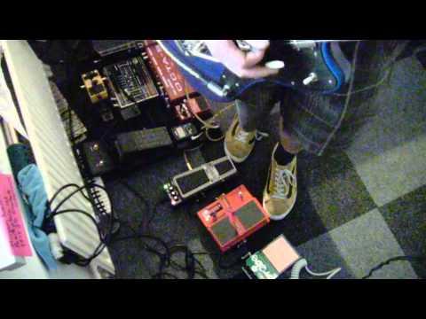 Lee Ranaldo Fender Jazzmaster with Wah/ whammy /fuzzprobe and clean..