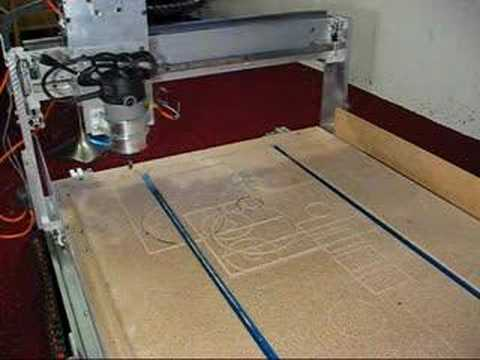 Cnc Router Table Youtube
