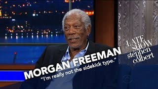 Morgan Freeman Is Stephen