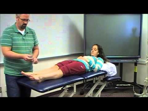 Ankle and Subtalar Joint Range of Motion Assessment