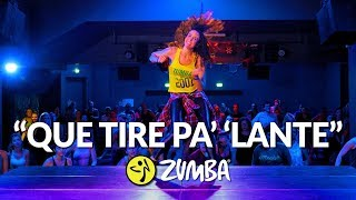 """QUE TIRE PA' 'LANTE"" - Daddy Yankee / Zumba® choreo by Alix"