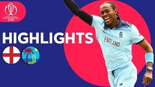 England vs West Indies - Match Highlights | ICC Cricket World Cup 2019