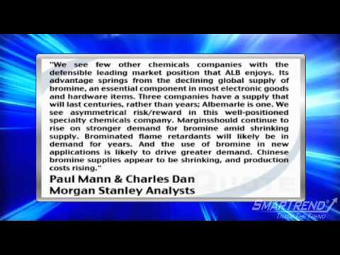 Analyst Insight: Morgan Stanley Initiated Coverage Of Albemarle Corp With OW Rating, $52 PT