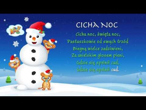 Cicha Noc - Polskie Kolędy - Karaoke