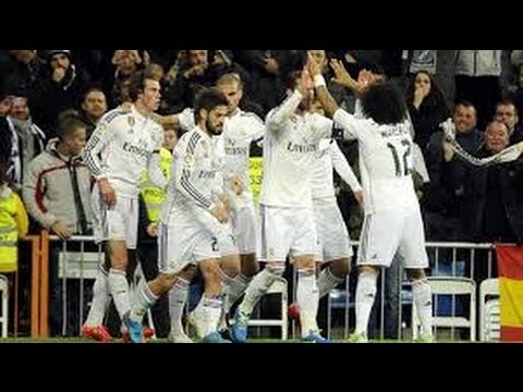 Goals - Real Madrid vs Levante 2-0 2015-3-15 Highlight