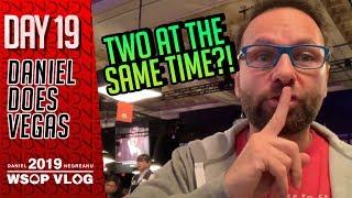 Here a CASH, there a CASH, everywhere a CASH CASH! - 2019 WSOP VLOG DAY 19
