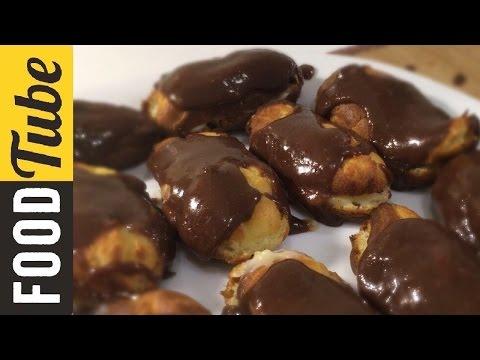 Французская Классика - Эклеры (Заварные Пирожные)! Вкусные Рецепты by Бодя