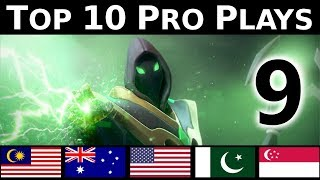 Dota 2 Top 10 Pro plays 9 - TURN AROUND PLAYS !