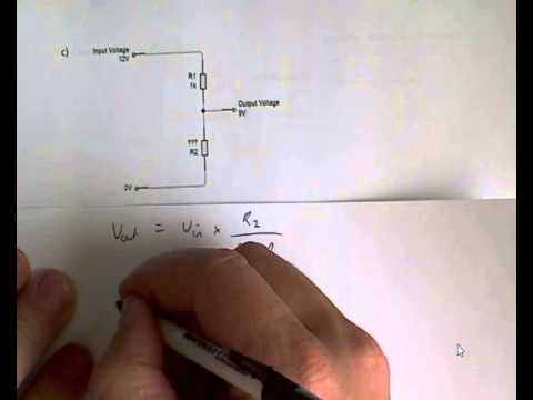 calculating with voltage dividers