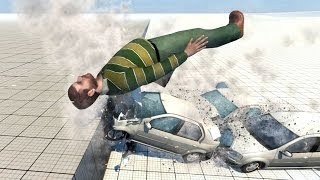 BeamNG.Drive Mod : Man (Crash test)