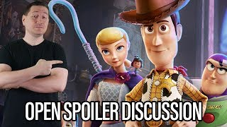 Toy Story 4 Open Spoiler Review And Discussion