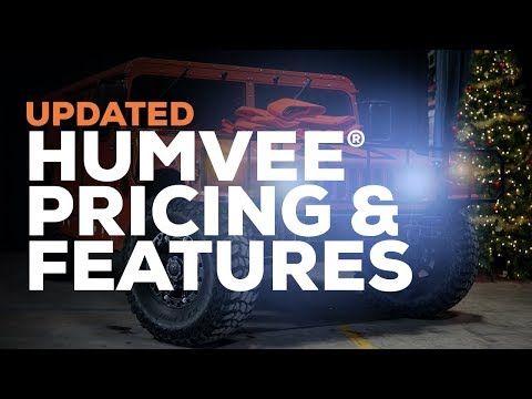 3 Humvees® compared - Full Pricing Breakdown. Plan B Supply