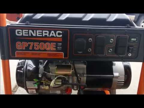 Generac GP7500E Consumer Review - The Good, The Bad, and The Ugly