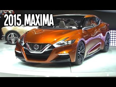 2015 all new nissan maxima sport sedan concept features. Black Bedroom Furniture Sets. Home Design Ideas