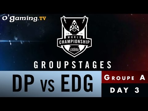 World Championship 2014 - Groupstages - Groupe A - DP vs EDG