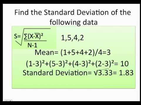 how to use standard deviation on calculator