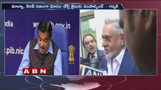 Nitin Gadkari says it's wrong to call Vijay Mallya a thief for defaulting on loan once  - netivaarthalu.com