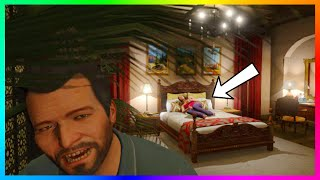 GTA 5 - The Secret Lives Of Franklin & Michael + Their Families Revealed In Hidden In-Game Photos!