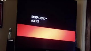 New Emergency Broadcast Across US television!