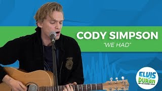 "Cody Simpson - ""We Had"" Acoustic 