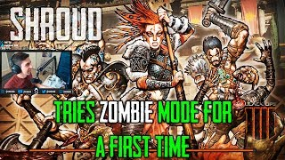 ZOMBIE MODE! SHROUD'S FIRST TIME | Call of Duty: Black Ops 4 - BLACKOUT #10