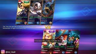 Short Gameplay   New Lesley Elite Skin - Black Rose Admiral   Mobile Legends 3.62 MB