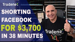 Day Trading Facebook & More for $3,700