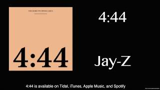 4:44 by Jay Z (Lyrics) (4K)