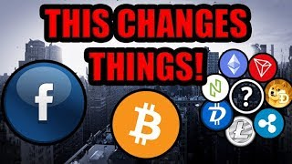I Just Sold My Altcoins. Facebook Changed The Game. Here Is Why! [What Is Libra Coin?]