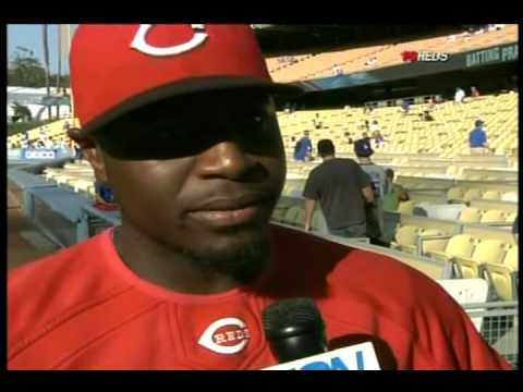 Reds Brandon Philips talking about not running out a fly ball Video