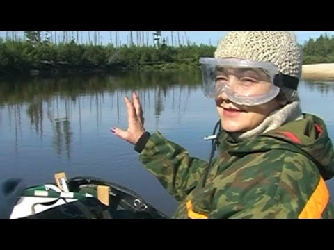 ловля на реке пур