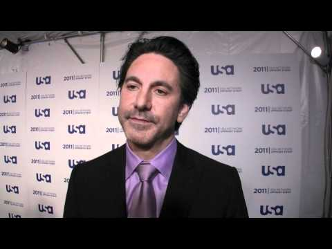 Scott Cohen speaks about 'Necessary Roughness' at the 2011 USA upfront