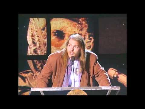 Axl Rose Inducts Elton John in 1994