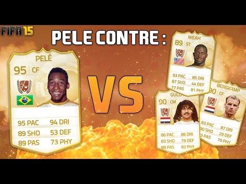 LE ROI PELÉ CONTRE DES LÉGENDES EN FEU - FIFA15 ULTIMATE TEAM