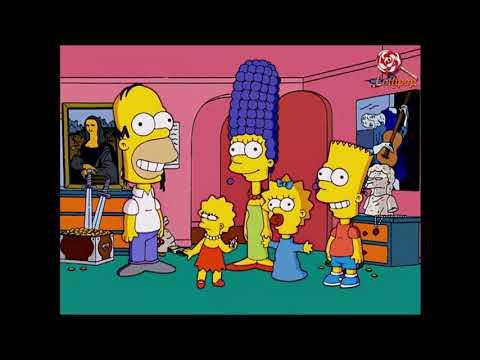 Симпсоны!Смешные моменты. Часть 1
