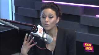 Emmanuelle Chriqui In Studio | Interview | The Roz & Mocha Show on KiSS 92.5
