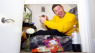 I Spent the Night in a Cupboard Under the Stairs & It Was Luxurious - Challenge