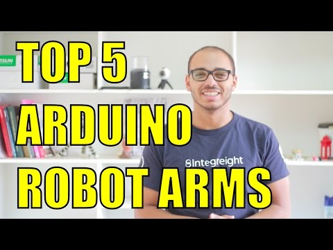 Top 5 Arduino Robot Arm Kits for Arduino