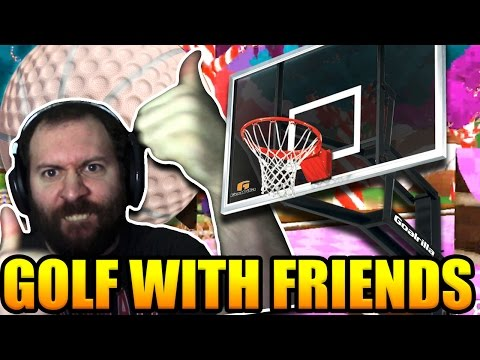 BASKETBALL GOLF RAGE | Golf With Your Friends Gameplay Part 33