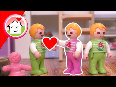 Playmobil Familie Hauser - Der beste Bruder - Geschichte mit Familie Overbeck