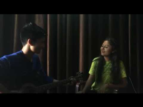 { Chitthi } Garhwali  song cover by Shefali Chhetri with guitar boy Ruhaan bhardwaj