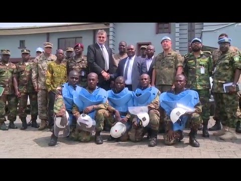 Explosive Ordnance Disposal responsibilities handed over to Armed Forces of Liberia