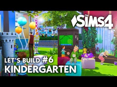 Die Sims 4 Kindergarten | Kleinkinder Haus bauen #6 - Let's Build (deutsch)
